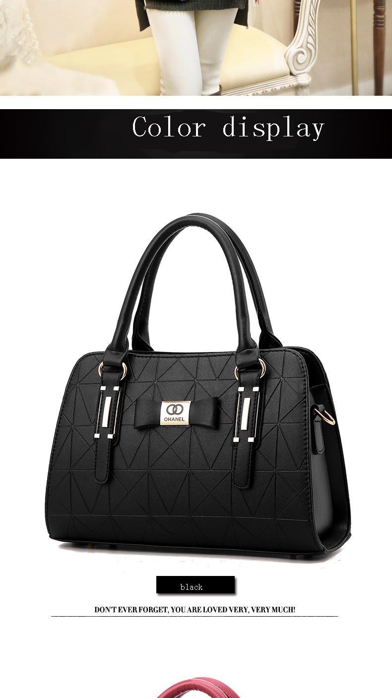 MICKY KEN Hot Sale Fashion Women Leather Handbag 7
