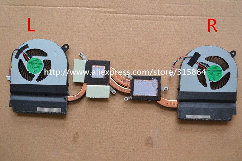 New laptop fan for Acer V Nitro VN7-591 VN7-591G with heatsink L&amp;R<br>