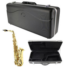 Instrument Protection Vintage Hardshell ABS Alto Saxophone Case Sax Bag Cover For Sax Woodwind Musical Instruments Lover Gift
