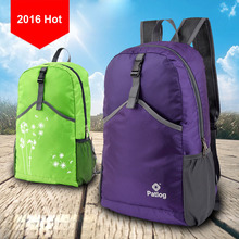 2017 Hot Waterproof Outdoor Folding Hiking Climbing Backpacks Sport Bicycle Running Daypacks Foldable Back packs(China)