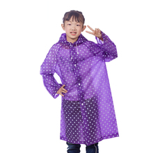 2016New Kids Rain Coat Children's woman Raincoat Rainwear Cartoon Animal Poncho Rainsuit Outdoor Rainwear For Children(China)