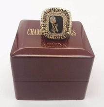 Drop shipping High Quality 2006 Miami Heat Basketball custom sports Replica World Championship Ring with wooden box(China)