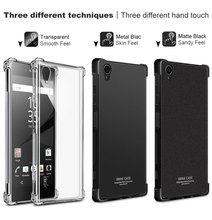 Buy Sony XA1 Plus Case Brand iMAK Airbag Super-slim Soft Phone cases Sony Xperia XA1 Plus Bumper case +Soft protective Film for $6.86 in AliExpress store