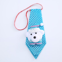 1PC Christmas Santa Claus Snowman Bear Elk Sequins Tie Bow Pendant Adult Children Decoration Home Xmas Ornaments - YR Store store