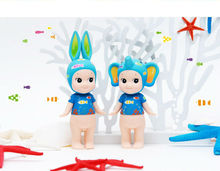 2pcs/1set sonny angel toys set , cartoon tropicall marine elephant and rabbit, lovely dolls, kids gift artical collection #725