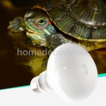 E27 Daylight Heat Light Bulb Reptile Terrarium UVA Lamp lizards, tortoise 220V-240V 25w -100w Choice(China)