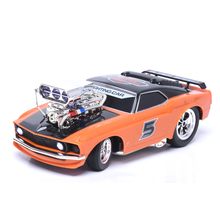 EBOYU(TM) 70599 Muscle Car Die Cast Models Remote Control Car with Light & Music RC Racing Car Gift Toy for Kids Children