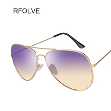RFOLVE  Newest Brand Designer Women Sunglasses Fashion Gradient Sunglasses Women Men gafas VU400 R8218
