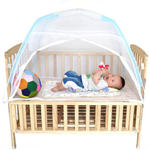 Buy 115*70*70cm Baby Bed Mosquito Net Folding Mosquito Net Tent Children Bed Baby Bed Canopy Infant Crib Netting Kids Camping Tent for $16.63 in AliExpress store