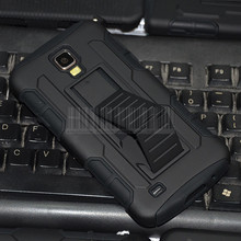 Case For Samsung Galaxy S IV 4 S4 ACTIVE i537 i9295 Full Black Advanced Armor Case Cover For Samsung Galaxy S IV 4 S4 ACTIVE(China)