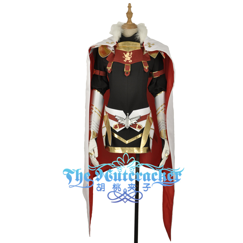 FGO Fate Cosplay Apocrypha Rider Girls Dress Astolfo Cosplay Costume Armour Stocking Tight Dress White Cloak Short Skirt Claok