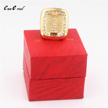 Manufacturer direct sales 1993 Canadian Canadians Stanley Cup copy world championship ring with high-end wooden box