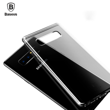 Baseus Transparent Case For Galaxy Note 8 Cases Soft TPU Silicone Case For Samsung Galaxy Note 8 Ultra Thin Back Cover Shell
