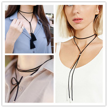Fashion contracted black South Korea velvet necklace Europe and the United States foreign trade jewelry wholesale Bohemia