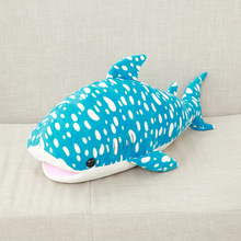 Kawaii Pillow Plush Soft Manufacturers Plush Stuffed Shark And Dolphin Pillow Marine Life Animal Cushion Toys Toys For Children(China)
