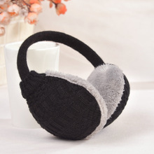 Women Men Winter Warm Knitted Earmuffs Ear Package Yarn Thermal Cover Ears Earmuffs 9 Colors Winter Ear Warmers Gifts