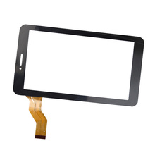 7 inch Black/White Touch Sreen for Irbis TX70 3G TX34 TX56 TX50 Tablet Digitizer Glass Panel Replacement(China)