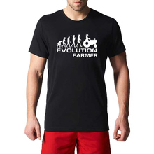Summer New Evolution Of Farmer Farming Mens T-Shirt Gift More Size and Colors(China)