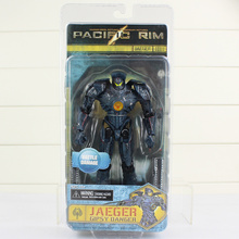 7''18cm NECA Pacific Rim Jaeger Movie Toys Gipsy Danger NECA Action Figures Collectible Model Toy 2017 New Arrival