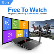 IPTV Europe Android TV Box Hot Arabic French RU Turkey Sport IPTV Channels Strong CPU WIFI 1G RAM 8G ROM HD Media Box
