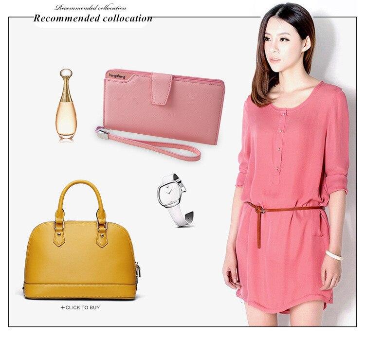 HTB1KV9FSFXXXXXOaXXXq6xXFXXXS - 2018 new fashion women wallet leather brand wallets women wholesale lady purse High capacity clutch bag for women gift