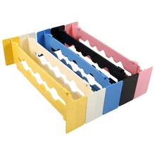 Adjustable New Drawer Organizer Home Kitchen Board Free Divider Makeup Tableware Storage Box Creative Design 5 Color