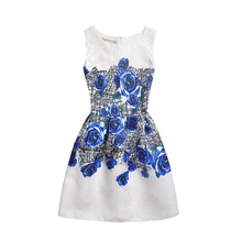 Summer Girls Chidlren Dress Dress Children Clothing Summer Dresses Girls Baby Pajamas Costume Princess Nightgown Vestidos Infant(China)