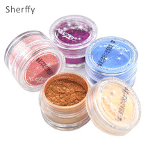 20 Colors Eye Shadow Makeup Powder Pigment Mineral Shimmer Matt Shadows Make Up Highlighters Brightens Brands Eyeshadow(China)