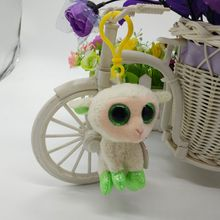 2017 New Ty Basket beanies collection LALA lamb sheep Plush Toy Clip Small Pendant Stuffed Animal Doll Key Chain Bag Ornaments