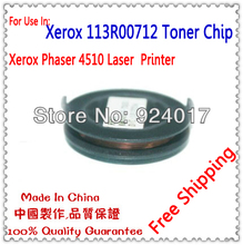 Printer Parts For Xerox Phaser 4510 4510N 4510B 4510DT 4510DX Toner Cartridge Chip,For Xerox 113R00712 113R007121 Toner Chip(China)