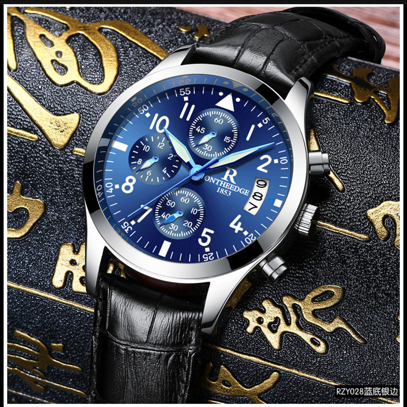Reloj Hombre New  Luxury Calendar Quartz Watch Men Fashion Business Leather Watches Casual Waterproof Mens Wristwatch Hot Sale<br>