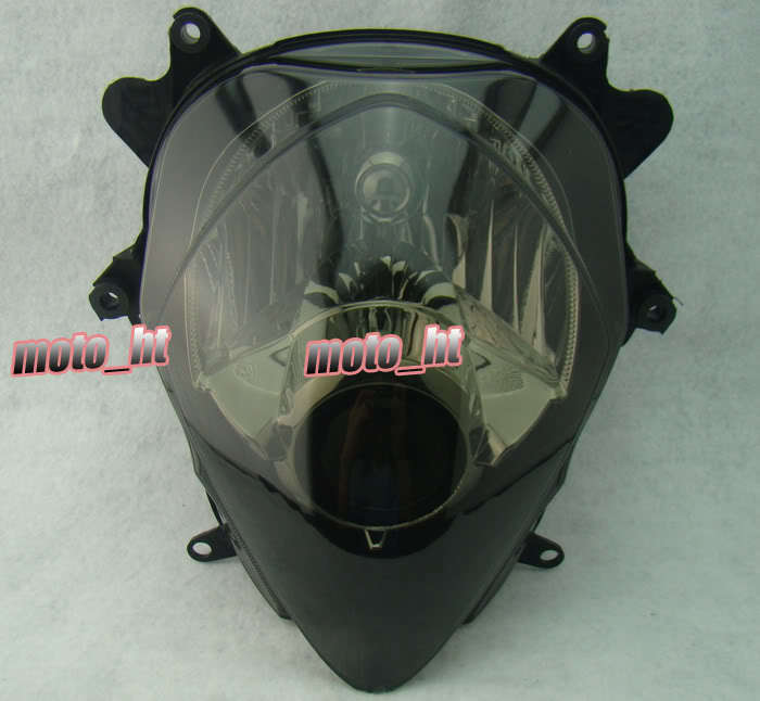 SMOKE Headlamp For Suzuki K7 GSXR 1000 2007 2008, Front Lighting Head light Replacements BLACK Color<br><br>Aliexpress