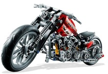 DECOOL 3354 Motorcycle Harley Vehicle Model building kits compatible with lego city 3D blocks Educational toys for children