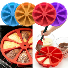 1pcs Bread Cake Cooking Baking Moulds Mold Tools Food Grade Silicone DIY Bakeware Tools Kitchen Accessories Random Color 2017