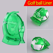 Practical Golf Ball Line Liner Marker Template Drawing Alignment Marks Putting Tool Set Club Equipment Accessories