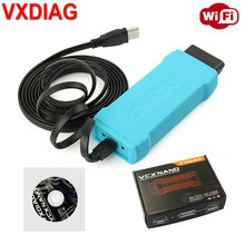 WIFI Version VXDIAG VCX NANO for GM Ford Mazda toyota LandRover Jaguar 5054 Car Diagnostic Tool OBD2 Scanner(China)