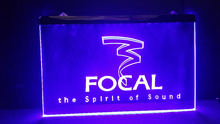 Focal Audio Speaker Theater Logo beer bar pub club led neon light sign wholesale and retail(China)