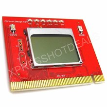 PCI Debug Card LCD Display Motherboard POST Tester Automatic Diagnostic Card(China)
