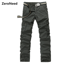 Pants Mens Sporting Pant Elastic Work Wear Baggy Cargo Pants Men Multi Pocket Outdoors Casual Fashion Camouflage Pant 355