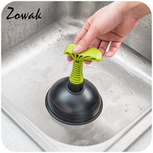 Pipeline Dredge Plunger Suction Pipe Cleaner for Drain Bath Sink Rubber Dredging Household Kitchen Cleaning Device Wash Basin(China)