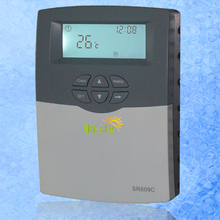 SR609C Solar Water Heater Controller for Compact Pressurized System with 1500W/3000W H1 with Sensor Pocket(China)