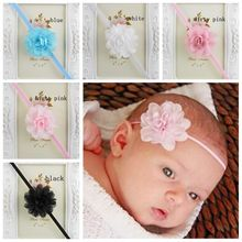 Newborn Baby Girl Chiffon Flower Headband Baby Hairband Hair Accessories Infant Girl Headdress