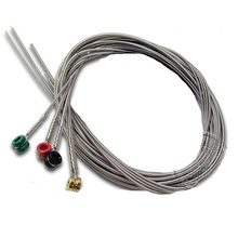 5 Sets 170BT (.045 .060 .080 .107) Regular Light Long Scale Nickel Wound Colorful Ball-End Electric Bass Strings(China)