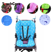 Clearance Thick Baby Infant Stroller Seat Pram Cushion Chair BB Car Umbrella Cart Seat Dot Cotton Mat Stroller Mat For Kids(China)