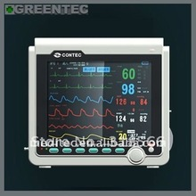 CMS6000A Multi Parameters ICU Patient Monitor (ECG NIBP SPO2 PR), Shipped from CONTEC company, 3 Years Warranty