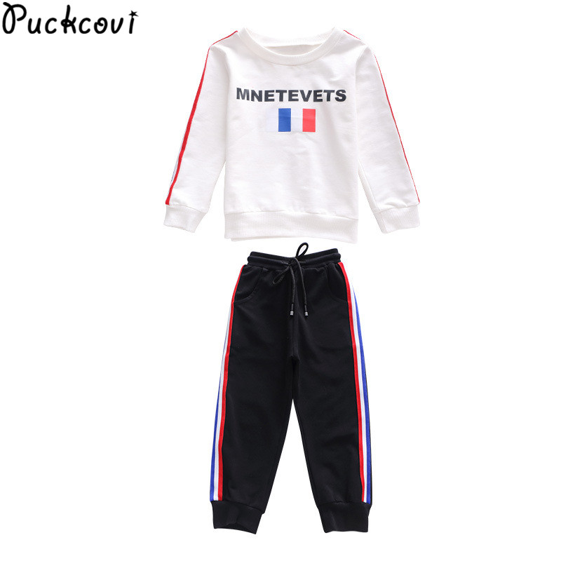 kids clothes ropa mujer roupas infantis menina clothing sets girls clothes girls clothing sets sports set girl T-shirt and pants<br>