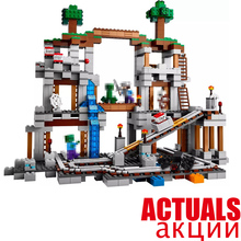Buy Lepin Minecraft 18011 922pcs World Mine Building Blocks Bricks anime action Figures educational Toys children 21118 for $41.26 in AliExpress store