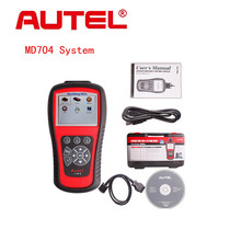 100% Original Autel Maxidiag Elite MD802 4 System 4 IN 1 Code Scanner MD 802 (MD701+MD702+MD703+MD704) + DS Model Update Online