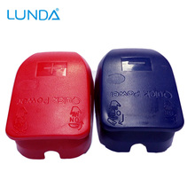Battery Quick Connector Battery Terminal with Caps for Top Posts batteries Free Shipping(China)