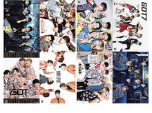 8 pcs/set different designs A3 Posters KPOP GOT7 GOT 7 got7 Paintings Wall Pictures Wall Sticker HB082